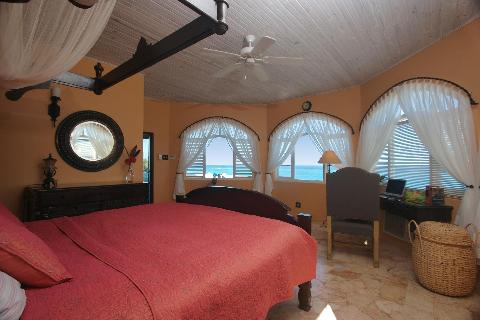 Al Cazar Bedroom with View to Sea