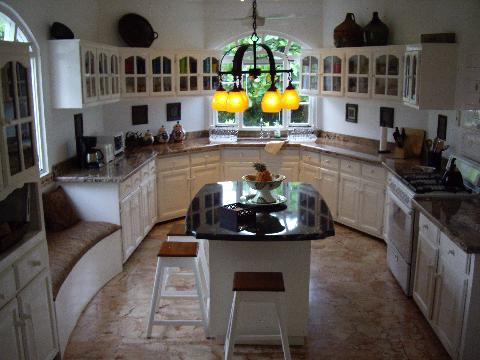 Granite Counters and Marble Floors