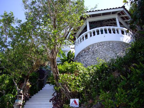 Steps from The Sea to Our Gazebo