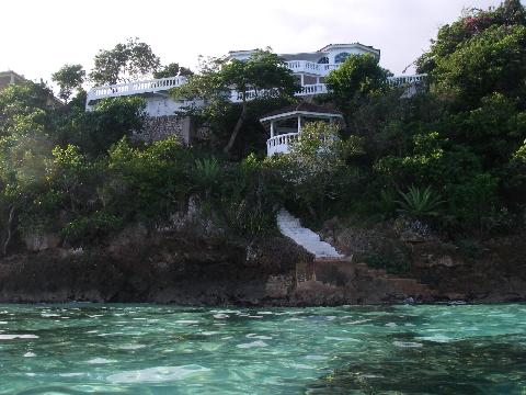 View of Villa From Sea